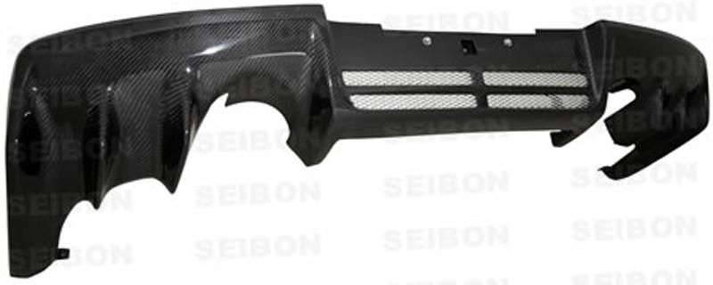 SEIBON Carbon Fiber Rear Diffuser Mitsubishi Lancer Evolution MR YR: 2008-2009