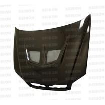 SEIBON Carbon Fiber Hood Mitsubishi Lancer YR: 2002-2003
