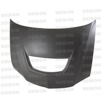 SEIBON Dry Carbon Hood - Mitsubishi Lancer Evolution MR YR: 2003-2005