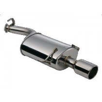 GReddy Silent Force Revolution Exhaust; Piping:80mm Dual;Tip:115mm Dual