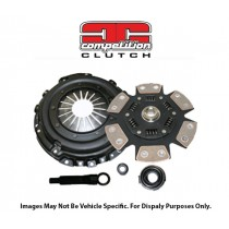 COMPETITION CLUTCH PERFORMANCE CLUTCH KIT - SCC Stage 4 Sprung Strip Series 1620 - 6 Pad Ceramic for Mitsubishi Lancer Evo 2006-2006 4G63 Cyl 4 2.0L EVO 9